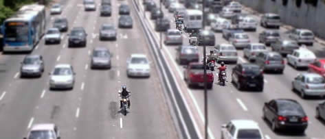 O trânsito, os motoboys e você.