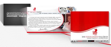 Vídeos e Summer Comunicação Integrada: uma nova era no www.drfernandovalerio.com.br