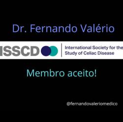 Dr. Fernando Valério e International Society for the Study of Celiac Disease (ISSCD)